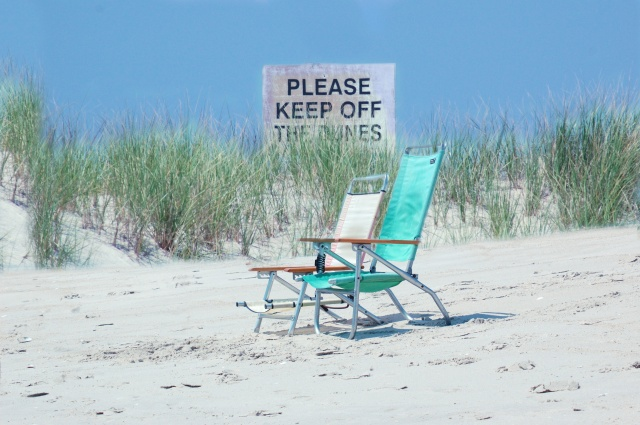 Keep off the Dunes - Fire Island, NY