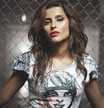 Nelly Furtado in my T-shirt
