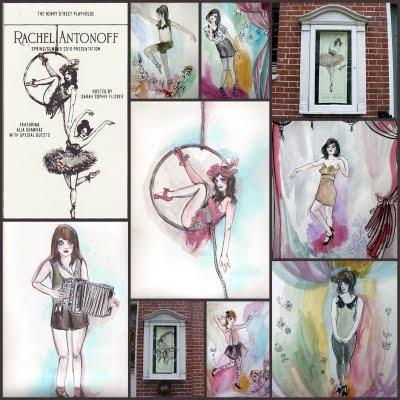 Rachel Antonoff Fashion Presentation Posters