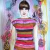 Painting of Eleni Mandell for SXSW