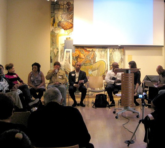 Art Talk Panel Discussion at the Museum of the African Diaspora in San Francisco, CA. 2009