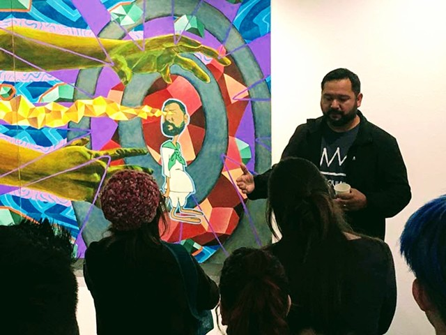 Art Talk I gave during my opening reception to my solo exhibition titled Second Thought on a Memory at Kaneko Gallery, Sacramento, CA