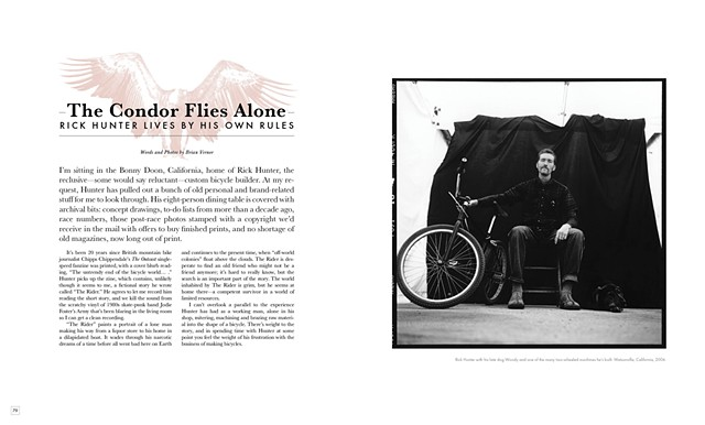 Rick Hunter, El Condor, for Freehub Mag, a story 20 years in the making.