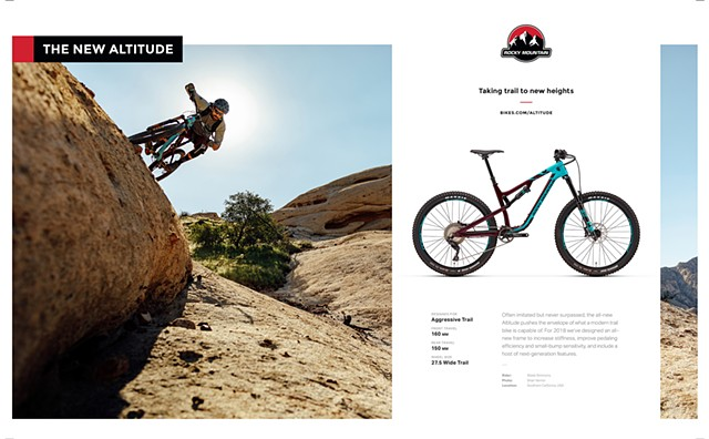 Wade Simmons for Rocky Mountain Bicycles