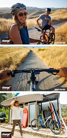 Photography for the Re-Launch of Charge Bikes