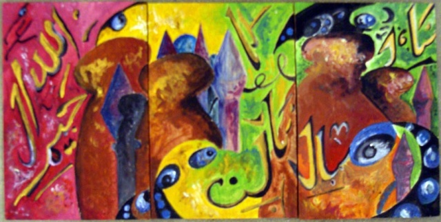 mini painting series