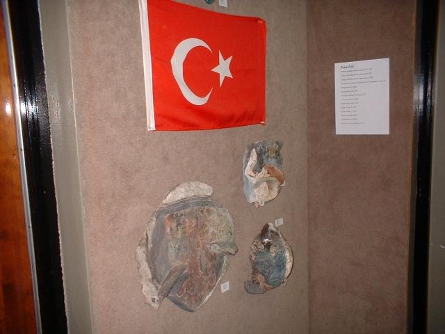 Ceramic Wall Pieces & Turkish Flag
