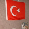 Ceramic Wall Pieces & Turkish Flag