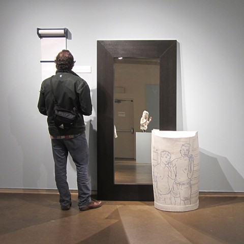 Untitled (Trash Can) Installation View