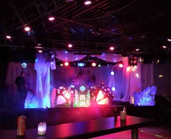 steampunk stage
