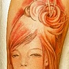 sleeve in the style of Audrey Kawasaki