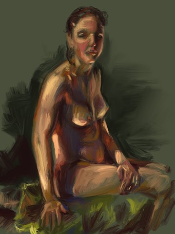 Sketch of Rachel