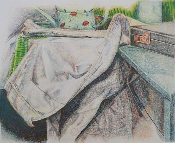 student work- foundations drawing- University of Cincinnati 2016