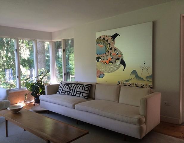 Tsang Seymour Design, Home Residence, Wilton, CT.