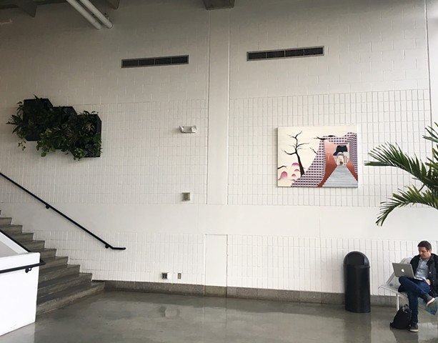 Mezzanine, Seton Gallery, University of New Haven
