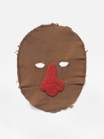 Untitled mask (nose)