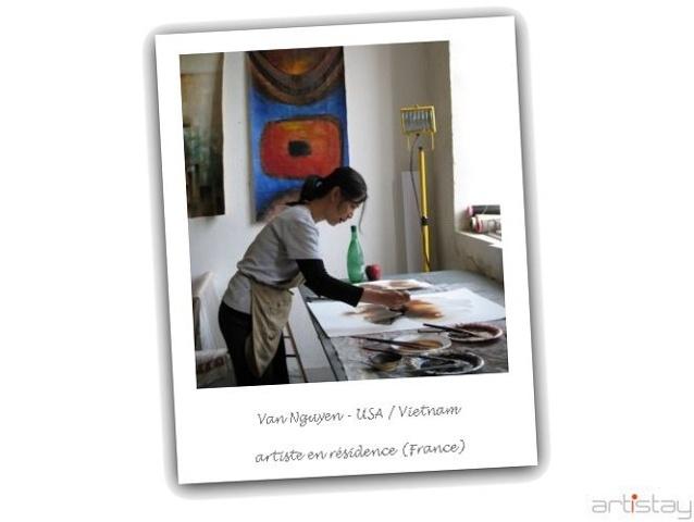 Van Nguyen - artist in residence