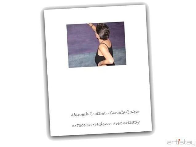 Alannah Krutina - artist in residence