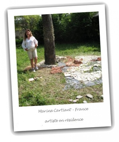 Marina Cartiant - artist in residence