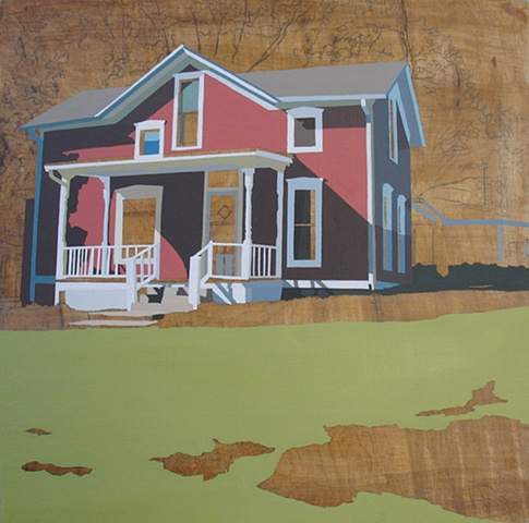 Refurbished Landscape (Kansas) PrintEdition of 20, 3 available