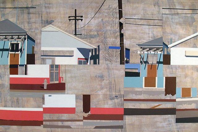Re-Assembled Landscape (New Orleans 4)