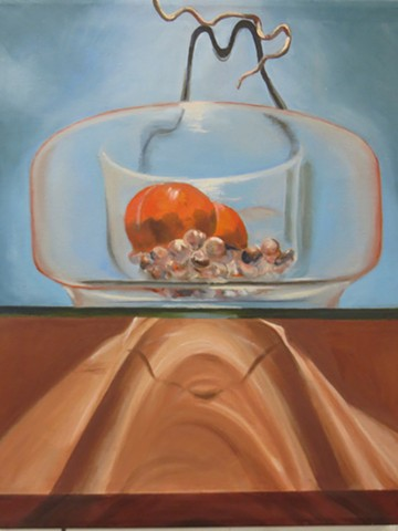 Still Life Painting, Complimentary Color