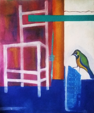 Bird and Chair