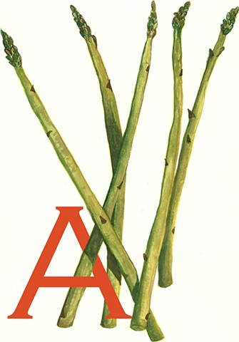 A is for Asparagus
