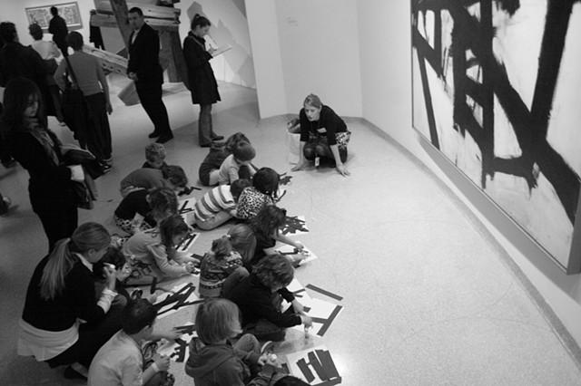 Kindergarten at the Guggenheim