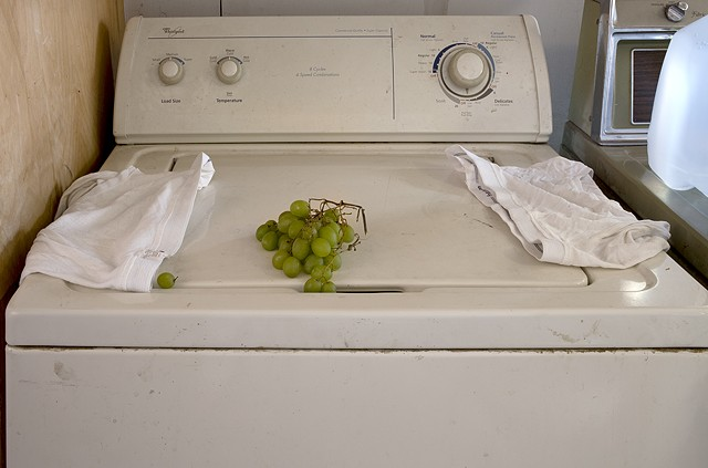 Still Life with Tightie Whities and Forgotten Grapes