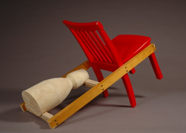 Strap On Mid-Range V2 Adirondack Chair