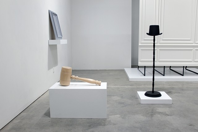 Lucre and Persuader (Installation View)