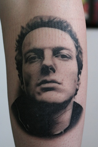 joe strummer face