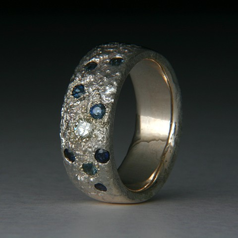 Stippled Ring