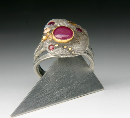 Maxilari Ruby ring is magical!