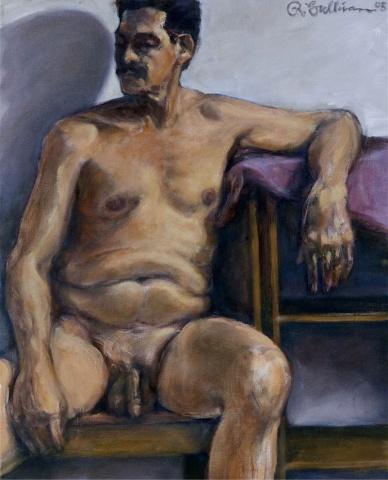 Man wearing mustache