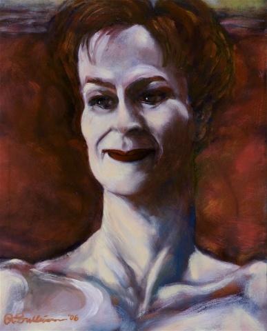Rouge Lady in Velvet Light