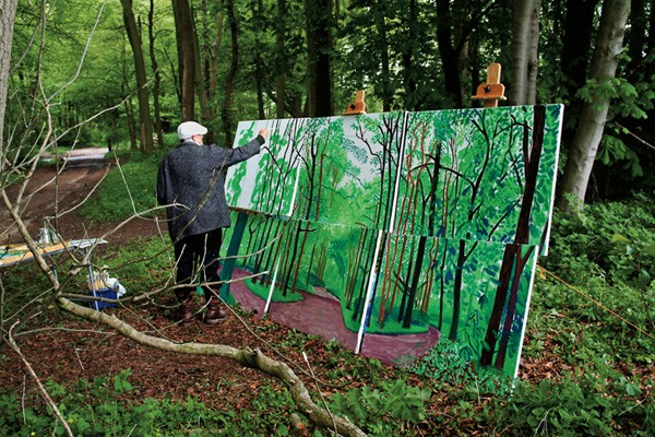 David Hockney Returns Home
