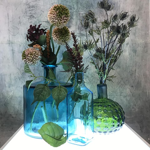 Alliums and Thistle