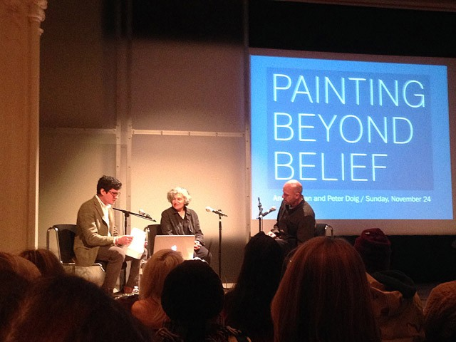 Painting Beyond Belief: Amy Sillman, Peter Doig, and Jordan Kantor Discuss Chagall