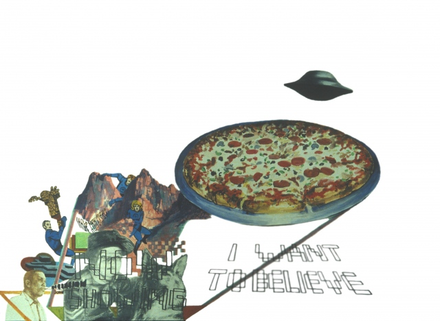 I Want to Believe/I Love You Pizza