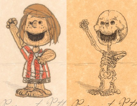 peppermint patty example side by side