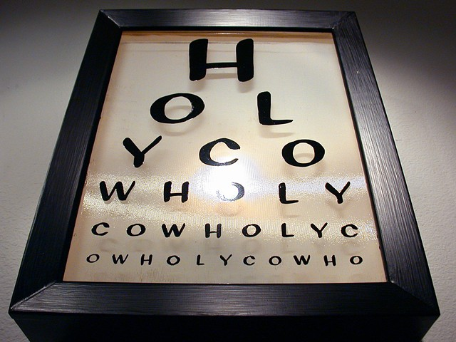 wholy light box eyechart by michael paulus