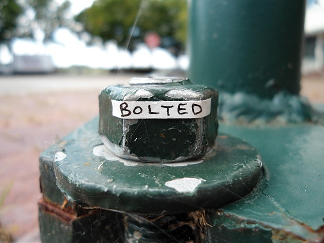 Actions Around Studio A: Bolted