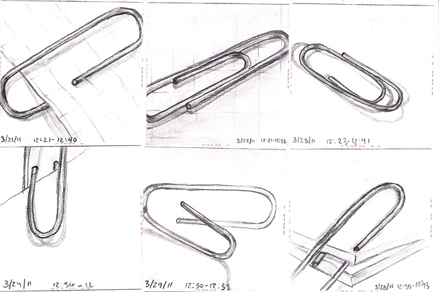 ISS duty - Paper Clips 3/21 - 3/30