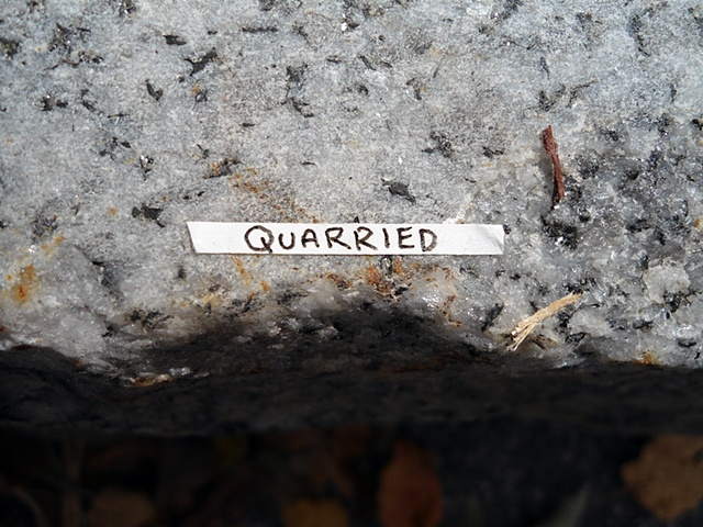 Actions Around Studio A: Quarried