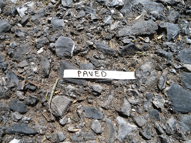 Actions Around Studio A: Paved
