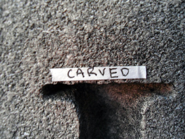 Actions Around Studio A: Carved