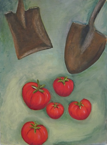 Tomatoes and Shovels