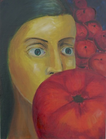 Woman & Tomatoes